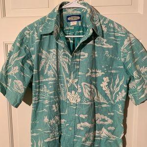 Reyn Spooner Hawaiian button down shirt